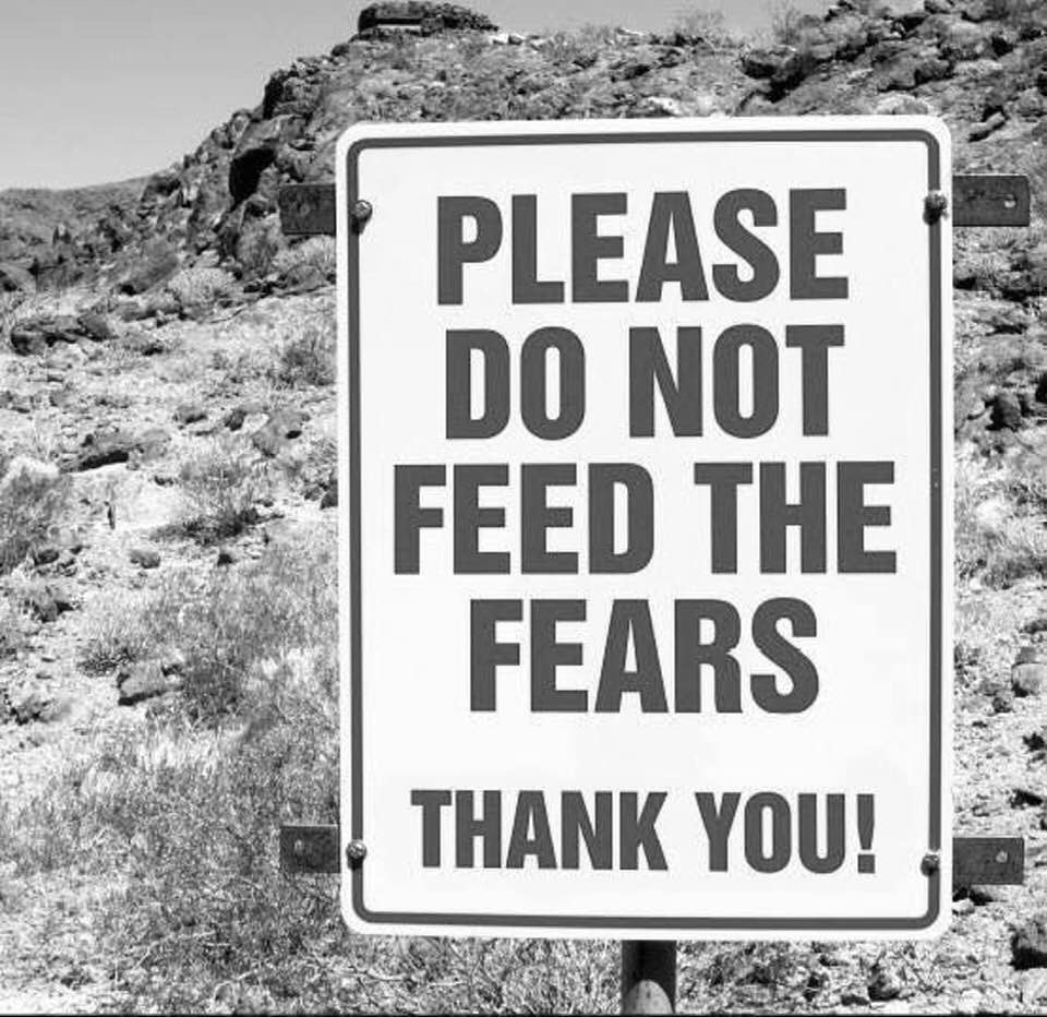 don't feed fear