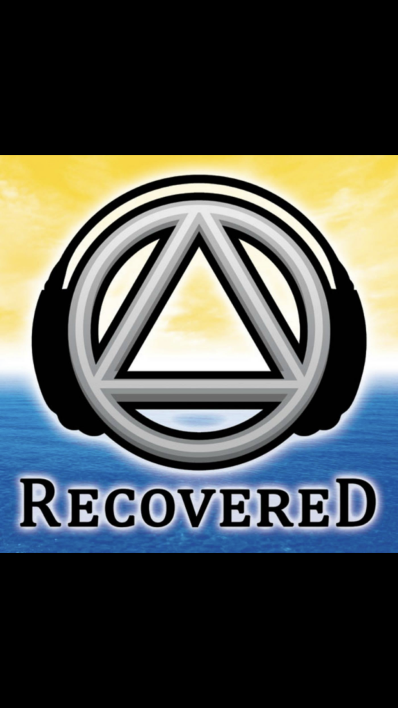 recovered podcast logo